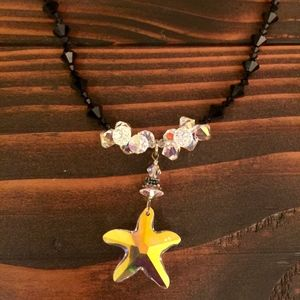 "13.5"" Starfish necklace. Beautiful!"